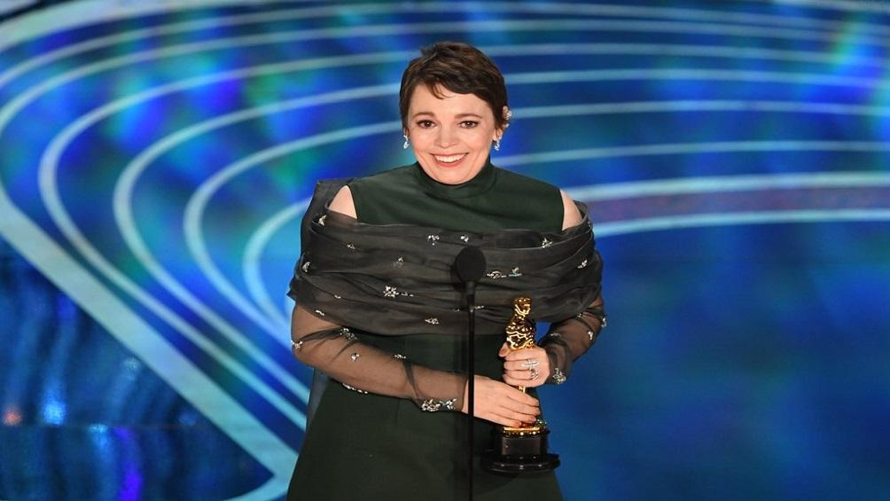 La británica Olivia Colman gana el Oscar a Mejor Actriz