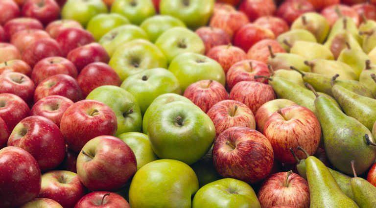Brasil suspendió el ingreso de peras y manzanas de la Argentina
