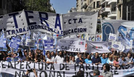 No habrá clases en todo el país: CTERA confirmó un paro nacional para el 6, 7 y 8 de marzo