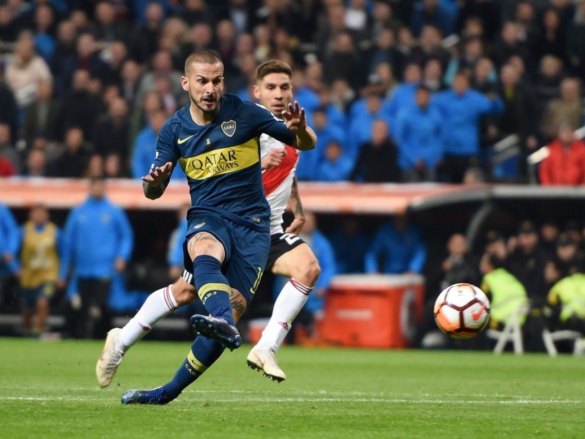El provocador gesto con el que Benedetto le dedicó a un jugador de River su gol