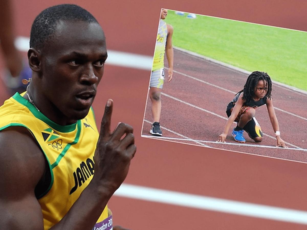 Tiene 7 años y corre tan rápido que ya lo comparan con un fuera de serie: Usain Bolt