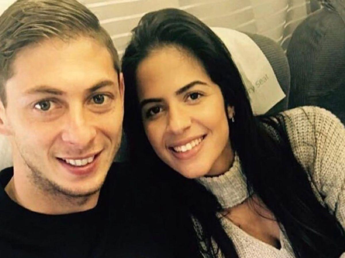 """La historia de Luiza, la novia de Emiliano Sala, y su emotiva despedida: """"Te voy a amar siempre"""""""