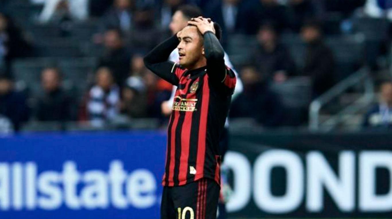 Atlanta United decidió dar a préstamo al Pity Martínez