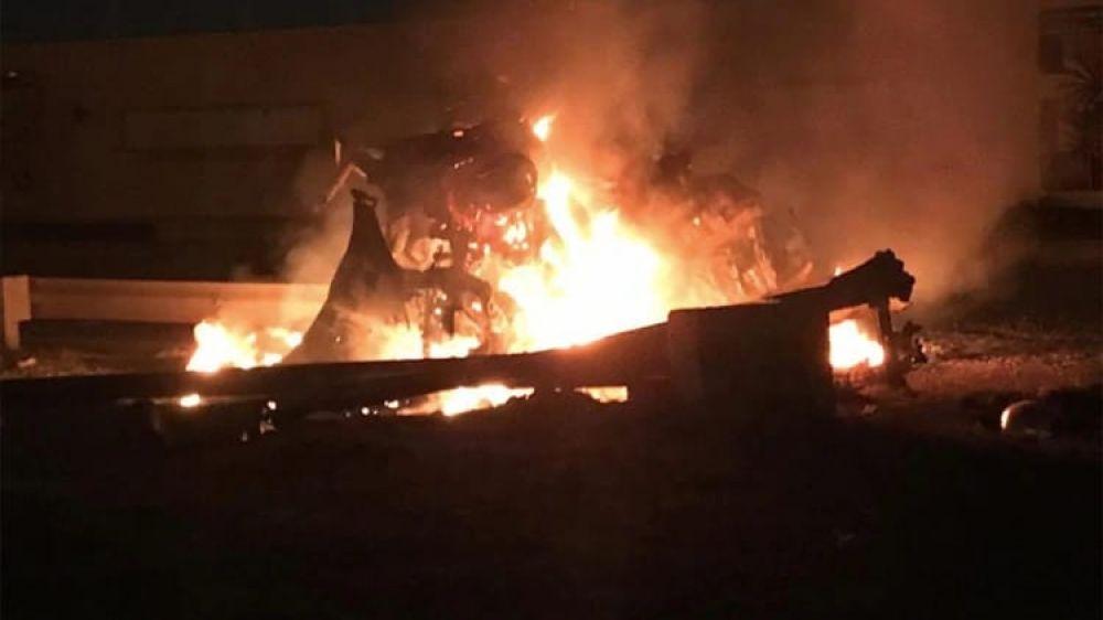 Bombardeo de los EE.UU. terminó con la vida de Qassem Soleiman