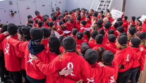 Cambio climático: un viaje a la Antártida para aprender a ser líderes en la diversidad y la inclusión