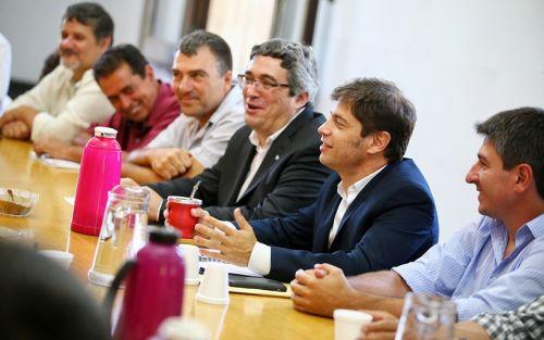 El ministro Rodríguez y Kicillof se reunieron con productores bonaerenses