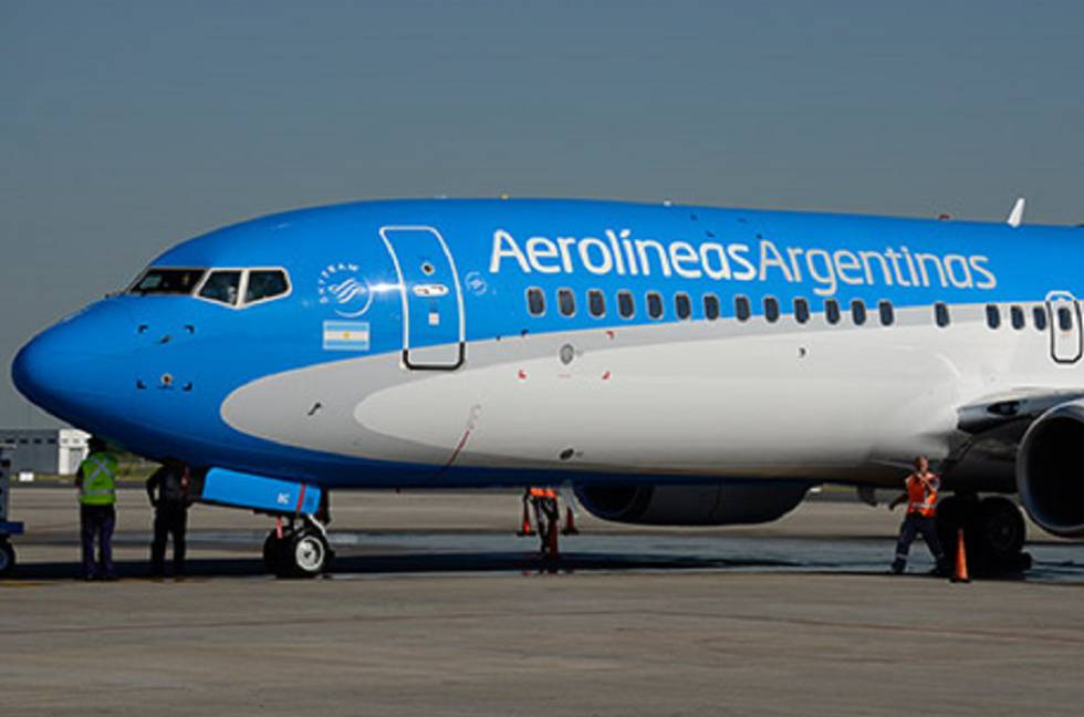 Aerolíneas Argentinas reinició sus vuelos de cabotaje
