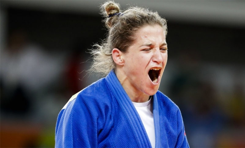 "La ""Peque"" Pareto vuelve a competir en el Grand Slam de Budapest tras 14 meses"
