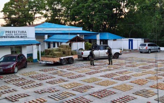 Incautaron más de 2 toneladas de marihuana en Itá Ibaté