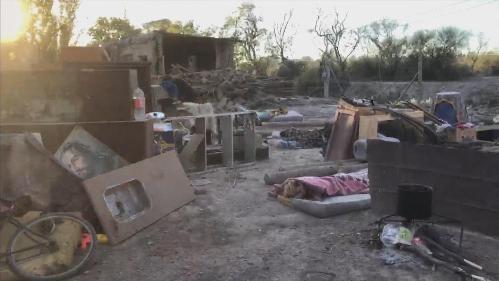 San Juan, tras el terremoto: muchas familias durmieron a la intemperie y crece el temor por robos